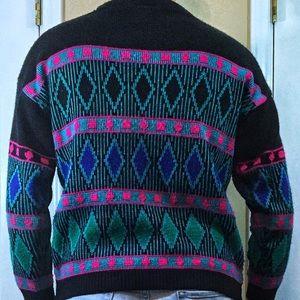 bbe00df75fa41c PASTA Sweaters | 80s Vintage Acrylic Sweater | Poshmark